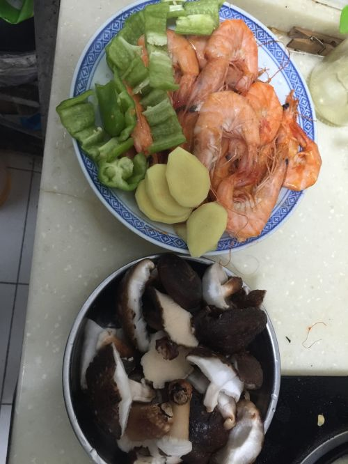 香辣阿根廷对虾的做法图解4