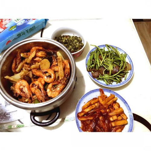 香辣阿根廷对虾的做法图解5