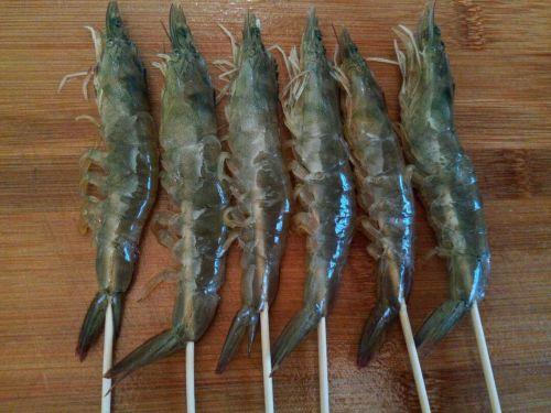 椒盐对虾的做法图解5