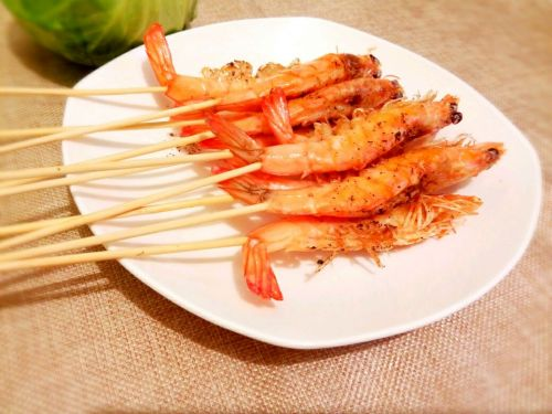 椒盐对虾的做法图解8