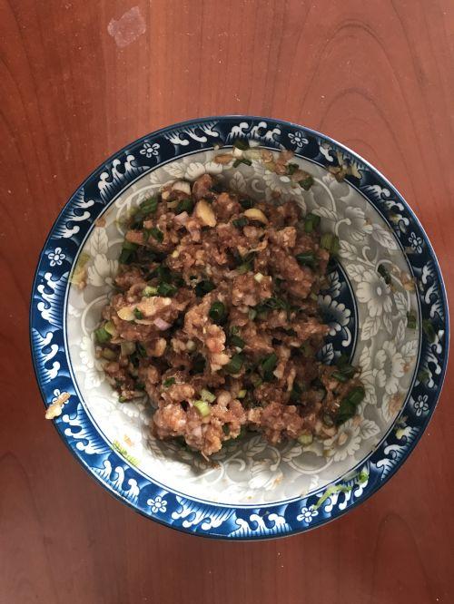 豇豆肉团的做法图解3