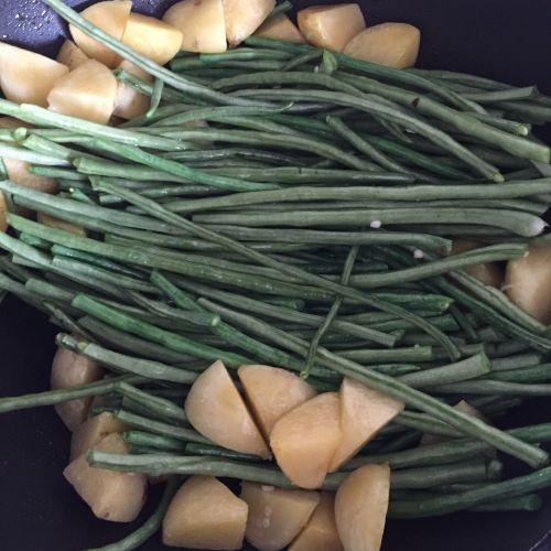 烀咸菜的做法图解5