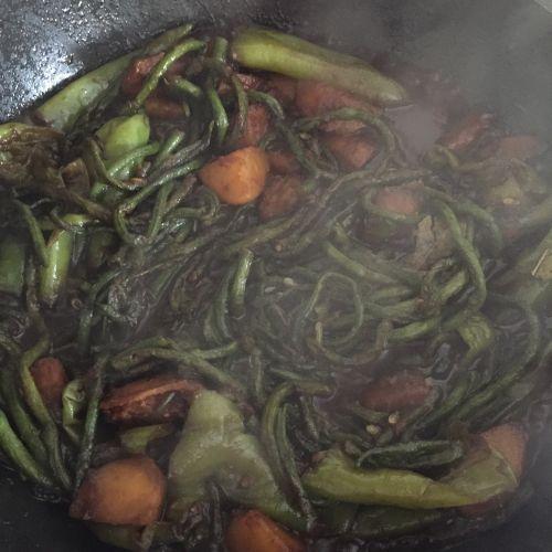 烀咸菜的做法图解8