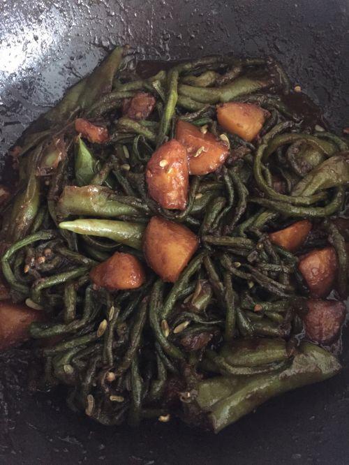 烀咸菜的做法图解9