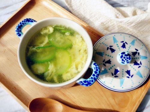 西葫芦鸡蛋汤的做法图解6