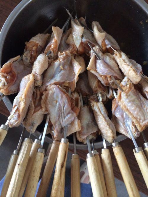 烧烤鸡翅的做法图解2