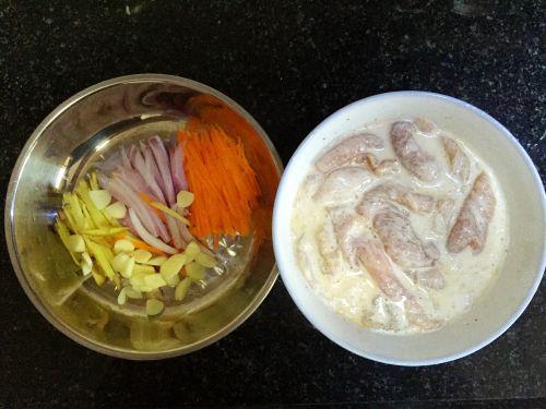 东北锅包肉的做法图解2