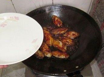 红烧鸡翅的做法图解4