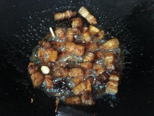 油豆腐烧回锅肉的做法图解7