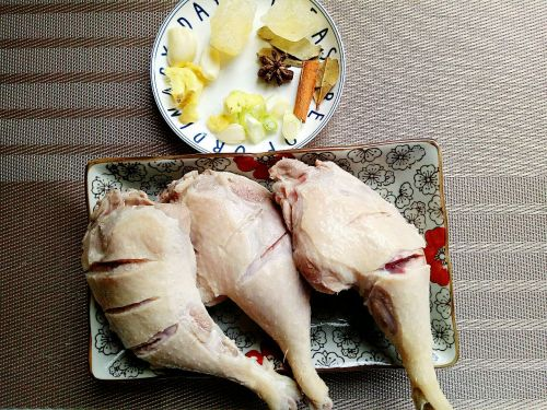 红烧鸭腿的做法图解3