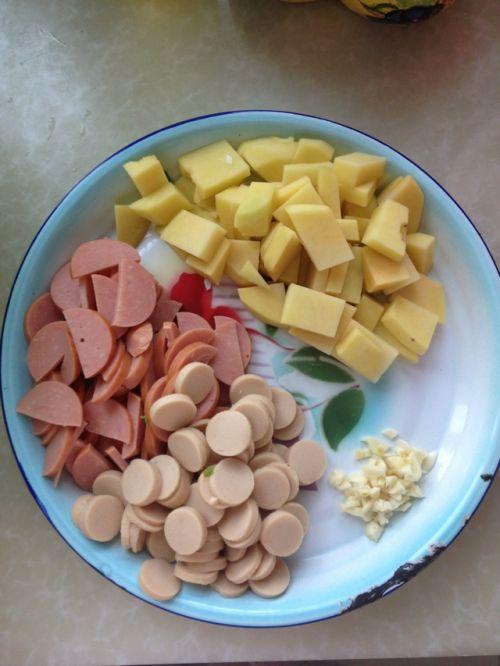 火锅料老干妈焖饭的做法图解2