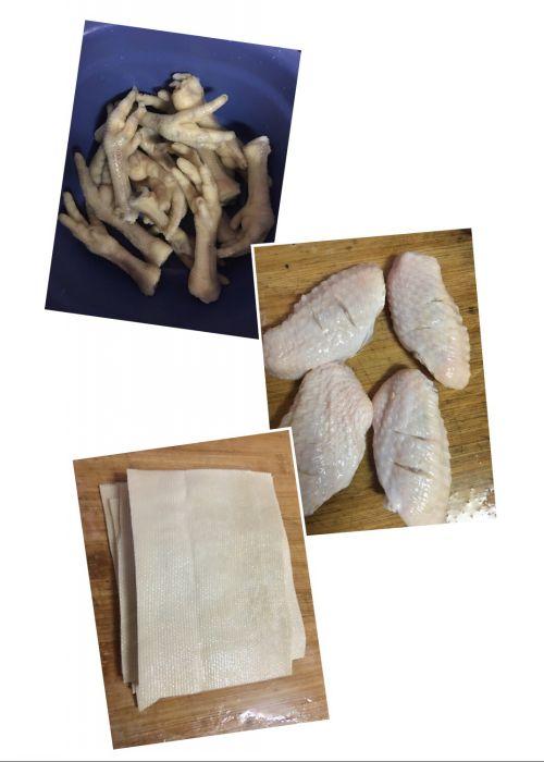 卤味(猪皮 鸡脚 豆皮)的做法图解9