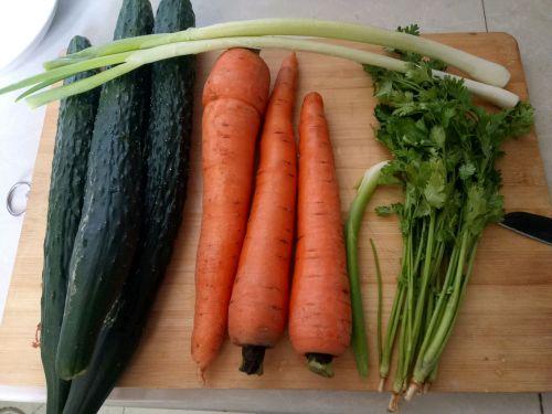 豆皮蔬菜卷的做法图解1
