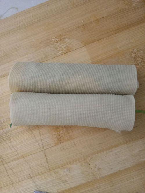 豆皮蔬菜卷的做法图解4