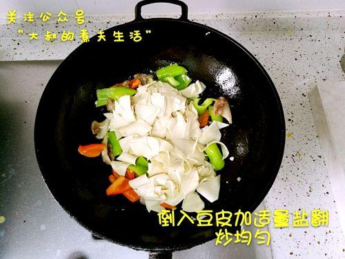 尖椒豆皮的做法图解7