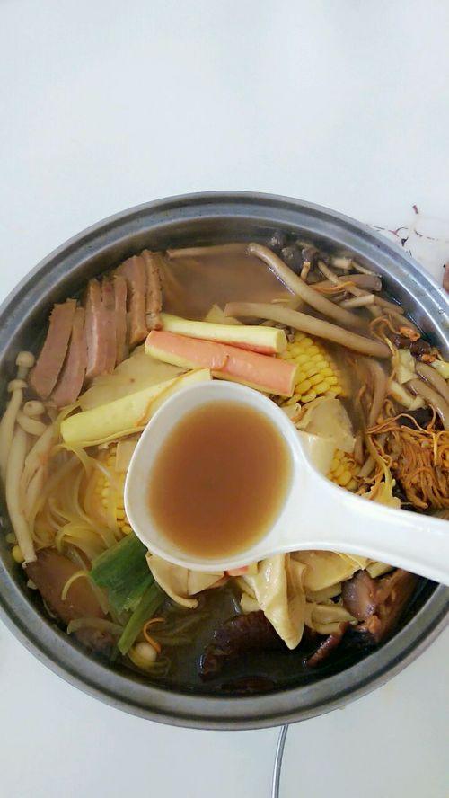 三鲜菌菇汤的做法图解6