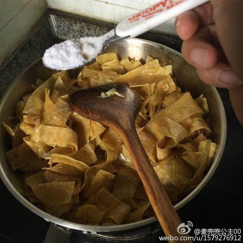 麻辣小零食--麻辣豆皮的做法图解6