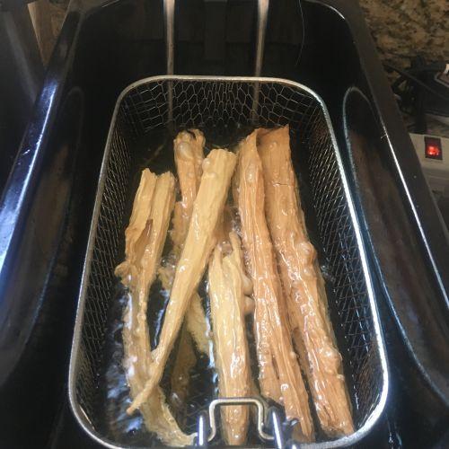 吃得有点饱-支竹羊肉煲的做法图解4
