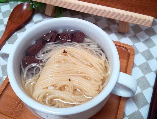鸭血豆腐汤面的做法图解7