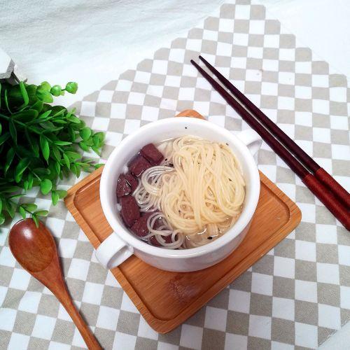 鸭血豆腐汤面的做法图解9