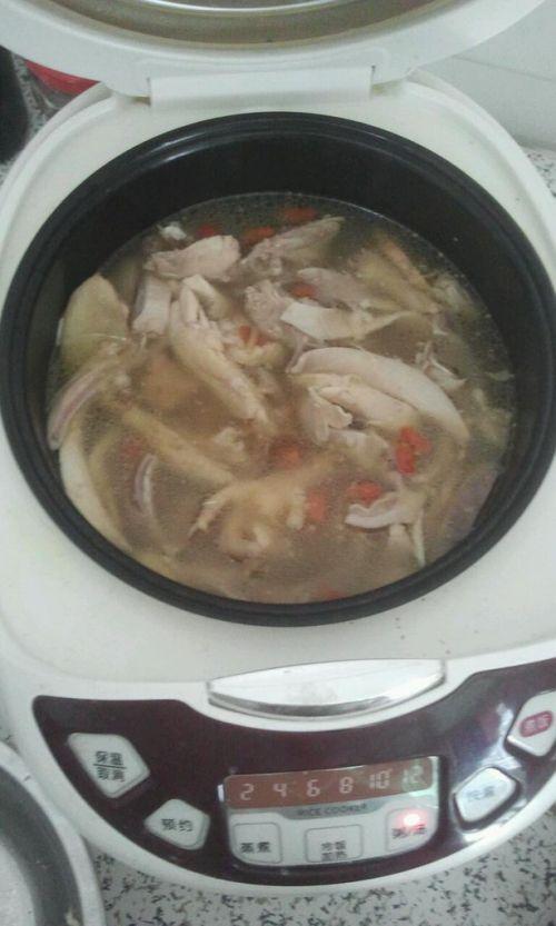 猪肚包鸡汤的做法图解11