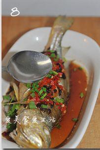 豉椒鲜蒸大黄鱼的做法图解8
