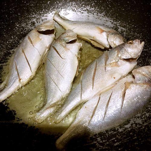 干煎豆鼓鱼的做法图解2