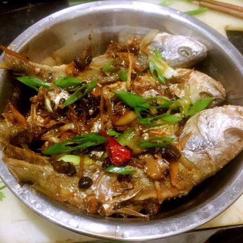 干煎豆鼓鱼的做法图解6