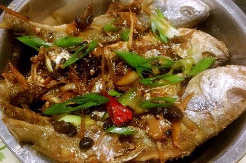 干煎豆鼓鱼