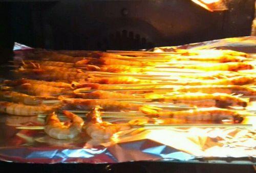 烧烤串串虾的做法图解4