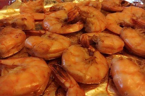 超级简单的家庭烤虾