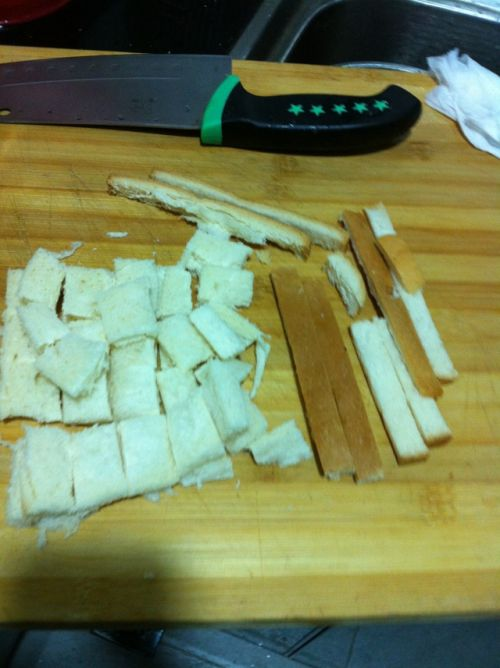 面包糠的做法图解2