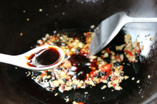 微波豉椒茄子的做法图解5