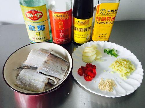 红烧糖醋带鱼的做法图解2