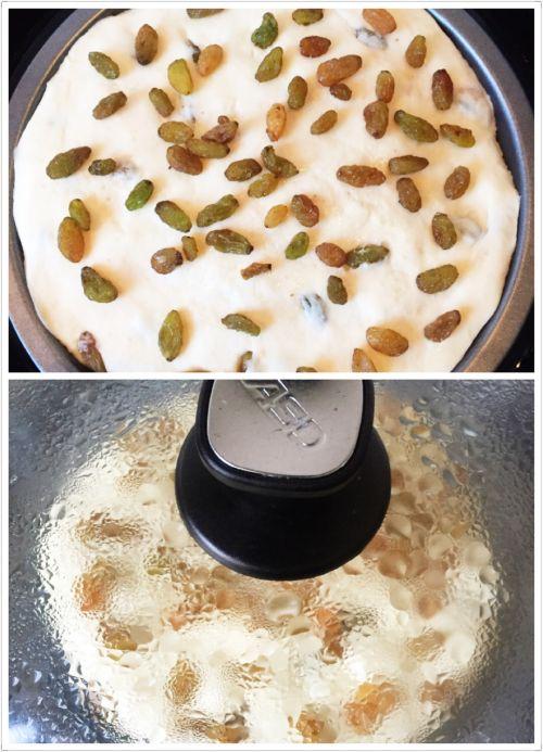 葡萄干燕麦发糕的做法图解7