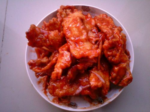 锅包肉的做法图解5