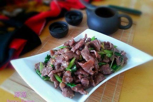 家常炒牛肉