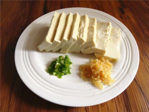 瑶柱嫩豆腐蒸水蛋的做法图解7
