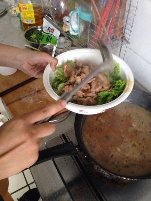 最简易的水煮肉片的做法图解6