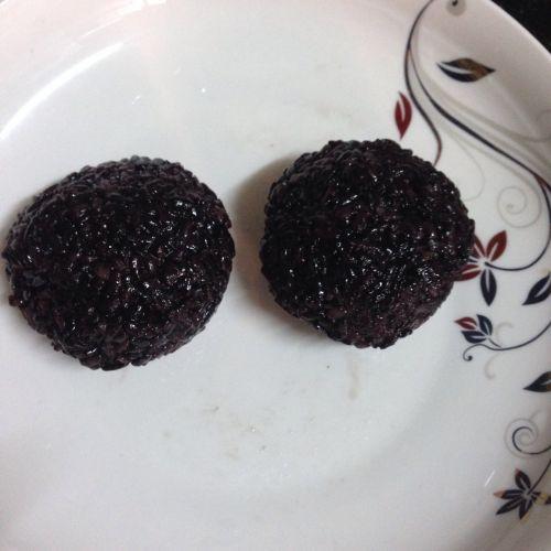 芒果黑糯米饭的做法图解4
