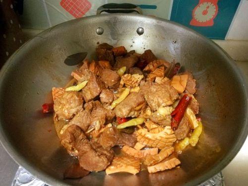 红烧鱼香牛肉的做法图解9