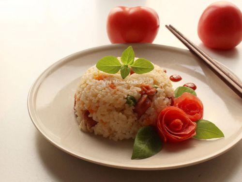 简单又好吃的蕃茄饭的做法图解5