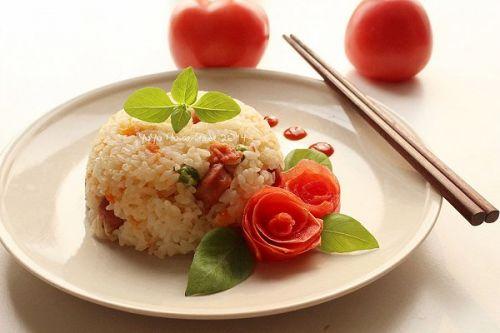 简单又好吃的蕃茄饭