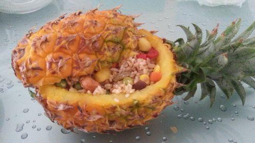 菠萝烩饭的做法图解6