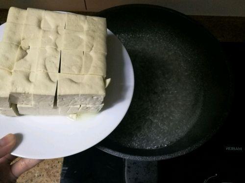 拔丝豆腐的做法图解2