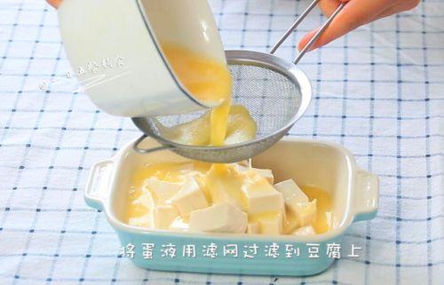 猪肉豆腐蒸水蛋的做法图解5
