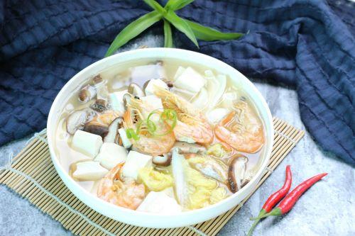娃娃菜煮豆腐汤的做法图解8