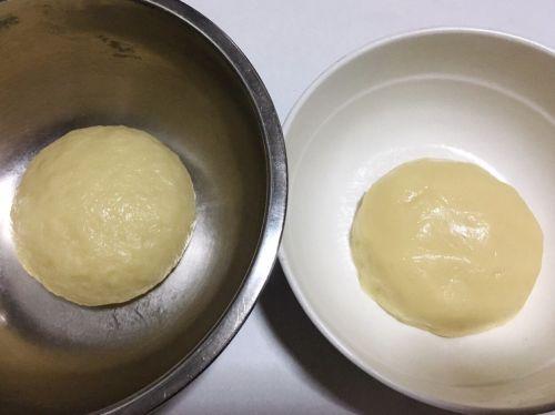 黑芝麻核桃酥皮月饼的做法图解1