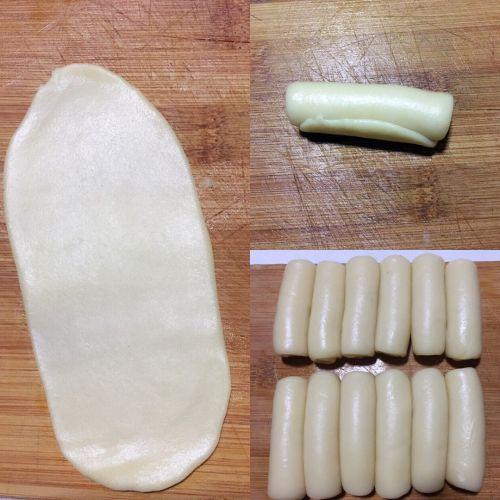 黑芝麻核桃酥皮月饼的做法图解4