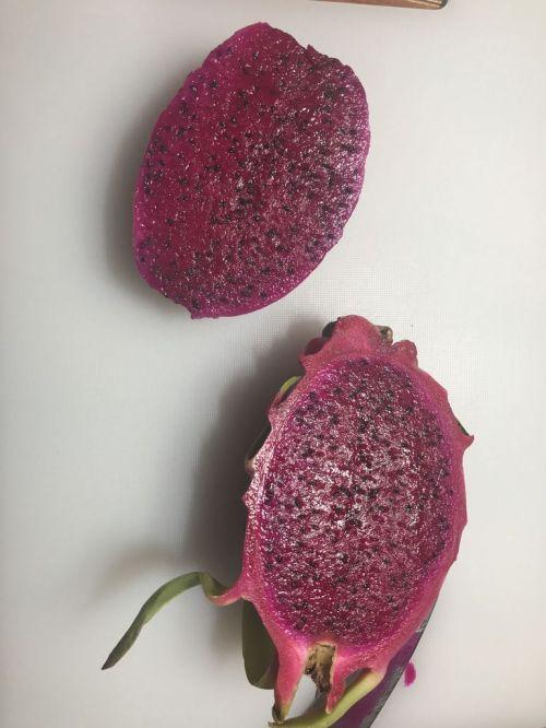 火龙果溶豆的做法图解3
